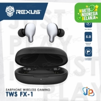 Headset Gaming Rexus TWS FX1 - Earphone Wireless Bluetooth