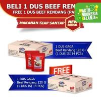 Beef Rendang 120g Beli 1 dus FREE 1 dus (GG54)
