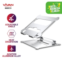 VIVAN VLS01 Laptop Cooling Stand Aluminum Alloy Liftable & Foldable