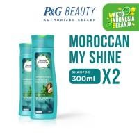 Herbal Essences Shampoo Moroccan My Shine 300 ml - Paket isi 2