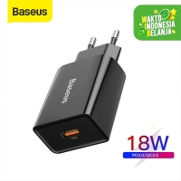 BASEUS USB CHARGER TYPE C QUICK CHARGER FAST CHARGING 18W PD3.0