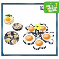 ALAT CETAKAN Telur Goreng / Pancake Stainless
