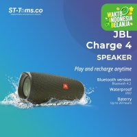 JBL Charge 4 Portable Waterproof Wireless Bluetooth Speaker - Green