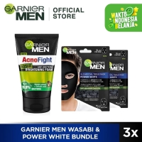 Garnier Men Wasabi & Power White Bundle
