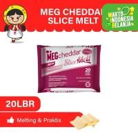 MEG Cheddar Slice Melt 20 slices