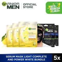 Garnier Serum Mask Light Complete & Power White Bundle