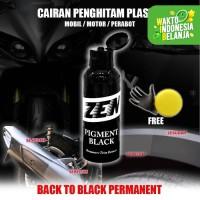 Zen Trim Restorer Semir Penghitam Interior Eksterior Mobil Motor 100ml