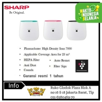 Sharp air purifier FP-J30Y-B/P/A [coverage 23M2]