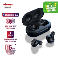 VIVAN Wireless Bluetooth Earbuds with Charging Case Liberty T100