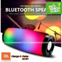 Speaker Bluetooth JBL Charge 2+ Pulse TG157 Waterproof Lights Wireless