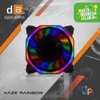 Digital Alliance DA KAZE 120 Cooler Fan Case - Fan Casing DA Rainbow