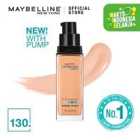 Maybelline Matte Foundation Fit Me Pump Matte Pore - Buff Beige