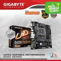 Motherboard Gigabyte B450M DS3H V2 (AM4, AMD, B450, DDR4, USB3.1)