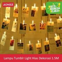 AONEZ lampu tumblr Light Hias Dekorasi 1.5M