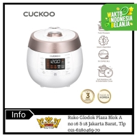 Cuckoo All in One Twin Pressure Rice Cooker CRP-RT1008F