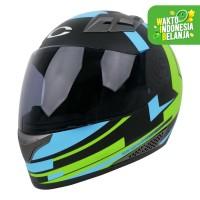 Cargloss New Sport One TETRIS Helm Full Face - Black Doff - SIZE M
