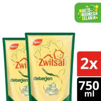 Zwitsal Baby Fabric Detergent 750Ml Twin Pack