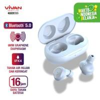 VIVAN Liberty T100 TWS Headset Earphone Bluetooth True Wireless Stereo