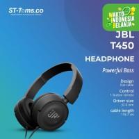 JBL On-Ear Headphone T450 - Hitam