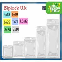 Plastik ziplock Ukuran 5x18 /6x10 /6x22 /7.5x12 /7x21 /8x14 /8x24 cm
