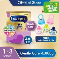 Enfagrow Gentle Care 800gx4 Free Botol Nuby Silicon Bib & Flip