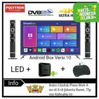 POLYTRON 4K UHD LED TV SMART ANDROID BOX RAM4GB [55 Inch] PLD 55UT8850
