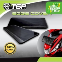 Dudukan / Cover Plat Nomor Motor TGP EDGE COVER New Model