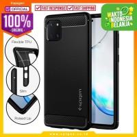 Case Samsung Galaxy Note 10 Lite Spigen Rugged Armor Carbon Fiber