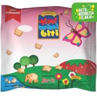 TINI WINI BITI biskuit anak Stroberi 20 g bentuk binatang 3 sachet