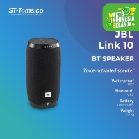 JBL Link 10 Voice Activated Portable Speaker Bluetooth - Black
