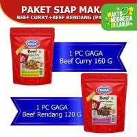 Paket Siap Makan GAGA Beef (GG60)