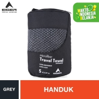 Eiger Travel Towel - Grey S