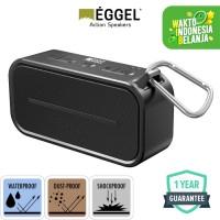 Eggel Active Waterproof Portable Bluetooth Speaker