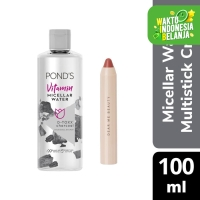 Ponds Micellar Water Charcoal 100Ml X Dear Nadia 3-in-1 Crayon