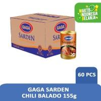 Gaga sarden Balado 155 gr (1 dus = 60 pcs)