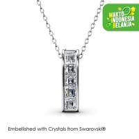 Glitz Pendant Kalung Kristal - Crystals Swarovski® by Her Jewellery