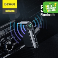 BASEUS CAR BLUETOOTH RECEIVER AUX 3.5MM WIRELESS AUDIO RECEIVER