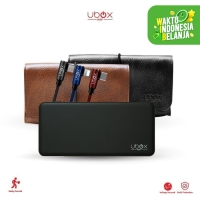 Power Bank Ubox Proton Fast Charging Quick Charge 3.0 18W 3A 10000Mah