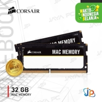 Memory Corsair MAC Apple Sodimm DDR4 PC21300 2666Mhz 32GB 2x16GB Ram