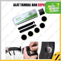Alat Tambal Ban Sepeda SET Portable Plus Kotak Mudah Dibawa Emergency