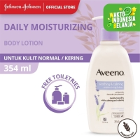 Aveeno Soothing and Calming Moisturizing Lotion 354ml Free Aveeno Toil