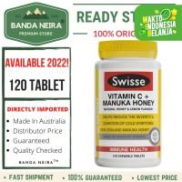 Swisse Vitamin C + Manuka Honey 120 Chewable Tablet