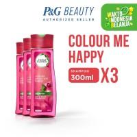Herbal Essences Shampoo Colour Me Happy 300 ml - Paket isi 3