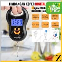 Timbangan Koper Digital 50kg Mini Electronic Travel Bag Scale Akurat