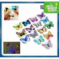 LED Kupu Kupu LED Butterfly / Lampu LED Tempelan Dinding