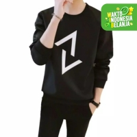 FortKlass VENOM 88 Sweater Polos Pria Lengan Panjang Unisex SIMPLE