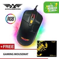 Armaggeddon Mouse Gaming Scorpion 5 4800 CPI - Garansi 2 Tahun