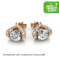 Eve Earrings Anting Kristal - Crystals Swarovski® by Her Jewellery