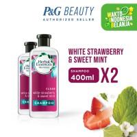 Herbal Essences Bio Clean White Strawberry & Sweet Mint Shampo 400x2