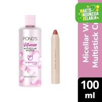 Ponds Micellar Water Brightening Rose 100Ml X Dear Nadia 3-in-1 Crayon
